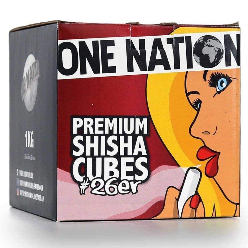 One Nation Shisha Charcoal 1kg