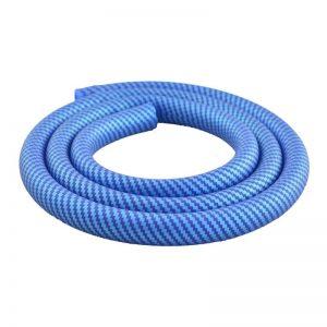 Σωλήνας Σιλικόνης για Shisha Carbon Blue