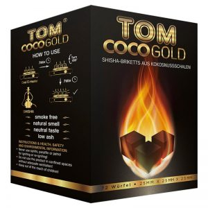 TOM COCO Gold 1 kg Hookah charcoal