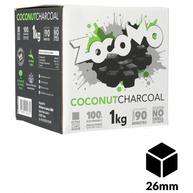 Zocomo charcoal 26mm 1kg