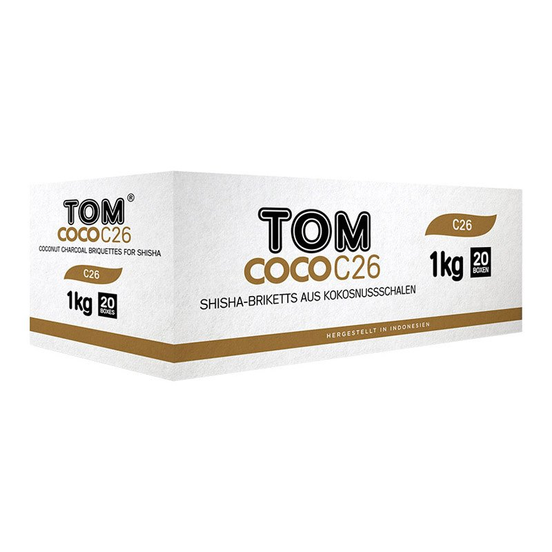 Tom Coco C26 Gold 20kg Charcoal