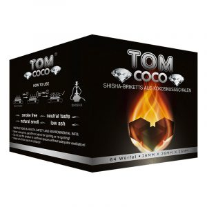 Tomo coco diamond καρβουνο ναργιλέ